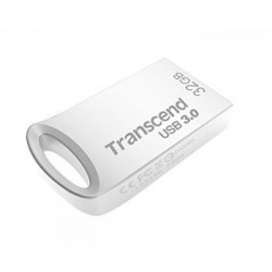Transcend 32GB JetFlash 710S, USB 2.0 flash disk, malé rozměry, stříbrný kov TS32GJF710S