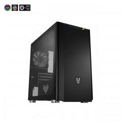 Fortron skříň Micro ATX CST311 Black, průhledná bočnice POC0000074
