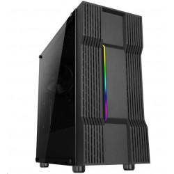 ABKONCORE skříň Cronos 610S, MIddle Tower, ATX, mini ITX micro-ATX, black, bez zdroje ABKO-CRO-610S-G