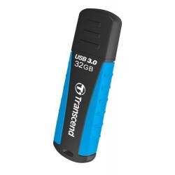 Transcend 32GB JetFlash 810, USB 3.0 flash disk, modro-černý, odolá nárazu, tlaku, prachu i vodě TS32GJF810