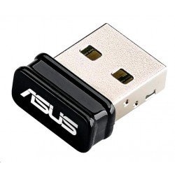 ASUS USB-N10 B1 Wireless N150 Mini USB Adapter 90IG05E0-MO0R00