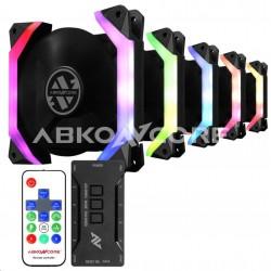 ABKONCORE Ventilátor Spider Spectrum Sync 5in1, 120x120x25mm, RGB ABKO-FAN-SPIDER-5IN1-SYNC