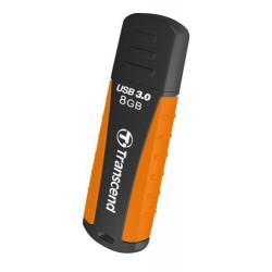 Transcend 8GB JetFlash 810, USB 3.0 flash disk, oranžovo-černý, odolá nárazu, tlaku, prachu i vodě TS8GJF810