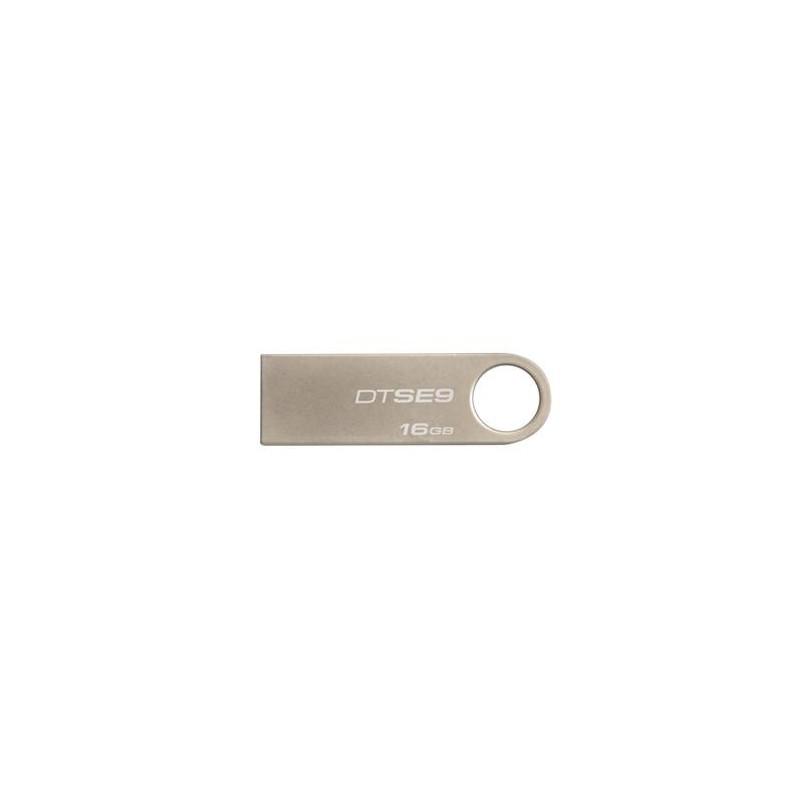 KINGSTON 16GB USB 2.0 DataTraveler SE9 kovový - bez potisku DTSE9H/16GBCL