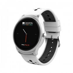 Canyon CNS-SW81SW Oregano smart hodinky, BT, fareb. LCD displej 1.3´´, vodotes. IP68, multišport. režim, strieborno-čier