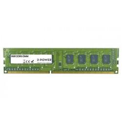 2-Power 8GB MultiSpeed 1066/1333/1600 MHz DDR3 Non-ECC DIMM 2Rx8 (...