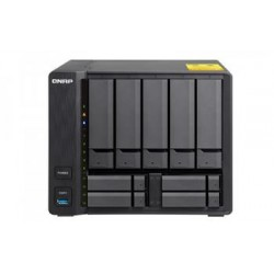 "QNAP TS-963X-2G Turbo NAS server, AMD G-Series GX-420MC 2,0 GHz/2GB/RAID 0,1,5,6,10/1x10GL//1xGL/5x 3.5""/4x2,5"""