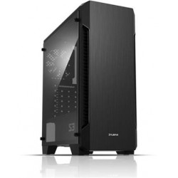 Zalman case miditower S3, ATX/mATX/Mini-ITX, bez zdroje, USB3.0, černá