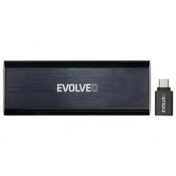 EVOLVEO Tiny N1, 10Gb/s, NVME externí rámeček, USB A 3.1 HDEtinyn1