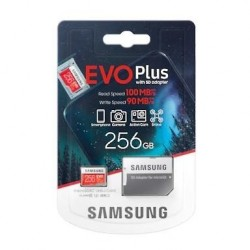 SAMSUNG Micro SDXC EVO 256GB (2020) MB-MC256HA/EU