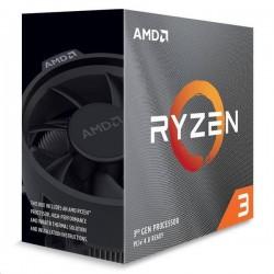 AMD, Ryzen 3 3100, Processor BOX, soc. AM4, 65W, with Wraith...