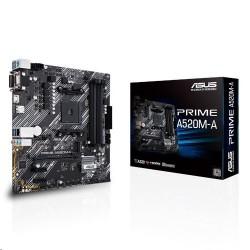 ASUS PRIME A520M-A soc.AM4 A520 DDR4 mATX M.2 D-Sub DVI HDMI...