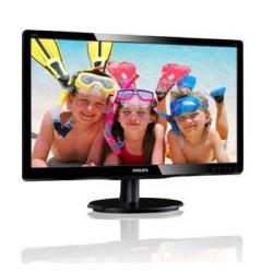 "Philips LCD 200V4QSBR 19,5""wide MVA/1920x1080/8ms/10mil:1/VGA/DVI..."