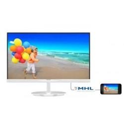 """Philips LCD 234E5QHAW 23""""wide/1920x1080/5ms/20mil:1/2xHDMI/MHL/LED/IPS/repro, bílý 234E5QHAW/00"""
