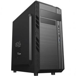 EUROCASE PC skrinka MIDI X501 EVO čierna MLX501B00EVO
