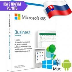 Microsoft 365 Business Standard SK 1rok ML Save No KLQ-00476 SN