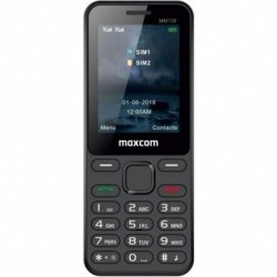 MAXCOM MM139, Mobilný telefón DUAL Sim, čierny