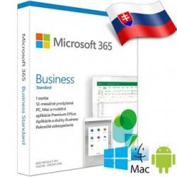 Microsoft 365 Business Standard SK 1rok ML KLQ-00476
