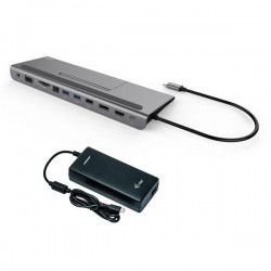 i-tec USB-C Metal Low Profile 4K Triple Display Docking Station...