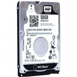 """Western Digital HDD WD 500GB 2,5"""" SATA3 WD5000LPLX"""