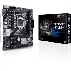 ASUS PRIME H410M-K soc.1200 H410 DDR4 mATX D-Sub DVI-D 90MB13I0-M0EAY0