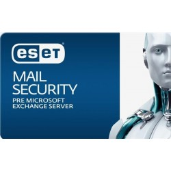 ESET Mail Security for Microsoft Exchange Server 11PC-25PC / 2 roky...