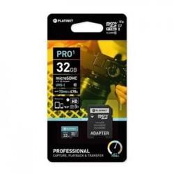PLATINET microSDHC  SECURE DIGITAL  ADAPTER SD 32GB class10 UI...
