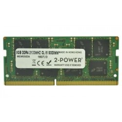 2-Power 8GB PC4-17000S 2133MHz DDR4 CL15 Non-ECC SoDIMM 2Rx8 1,2V...