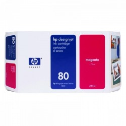 HP originál ink C4874A, No.80, magenta, 175ml, HP DesignJet 1050,...