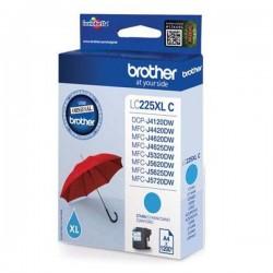 Brother originál ink LC-225XLC, cyan, 1200str., Brother MFC-J4420DW, MFC-J4620DW LC225XLC