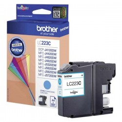Brother originál ink LC-223C, cyan, 600str., 1ks, Brother MFC-J4420DW, MFC-J4620DW LC223C