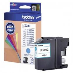 Brother originál ink LC-223C, cyan, 600str., 1ks, Brother...