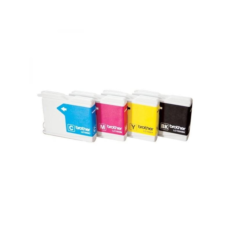 Brother originál ink LC-1000M, magenta, 400str., Brother DCP-330C, 540CN, 130C, MFC-240C, 440CN LC1000M