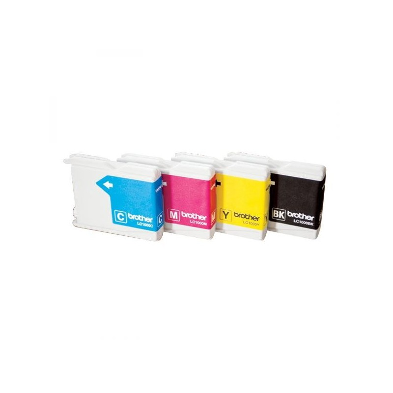 Brother originál ink LC-1000Y, yellow, 400str., Brother DCP-330C, 540CN, 130C, MFC-240C, 440CN LC1000Y
