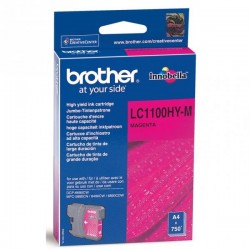 Brother originál ink LC-1100HYM, magenta, 750str., high capacity, Brother DCP-6690CW, MFC-6490CW LC1100HYM
