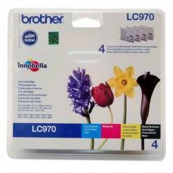 Brother originál ink LC-970VALBP, CMYK, 300str., Brother DCP-135C, 150C, MFC-235C, 260C LC970VALBP