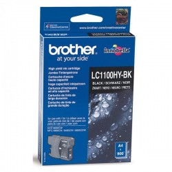 Brother originál ink LC-1100HYBK, black, 900str., high capacity, Brother DCP-6690CW, MFC-6490CW LC1100HYBK
