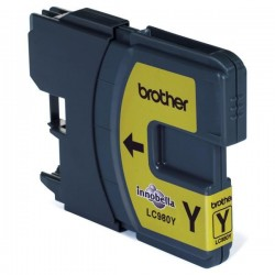 Brother originál ink LC-980Y, yellow, 260ml, Brother DCP-145C, 165C LC980Y