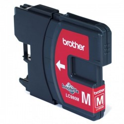 Brother originál ink LC-980M, magenta, 260str., Brother DCP-145C,...