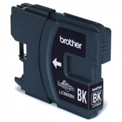 Brother originál ink LC-980BK, black, 300str., Brother DCP-145C, 165C LC980BK