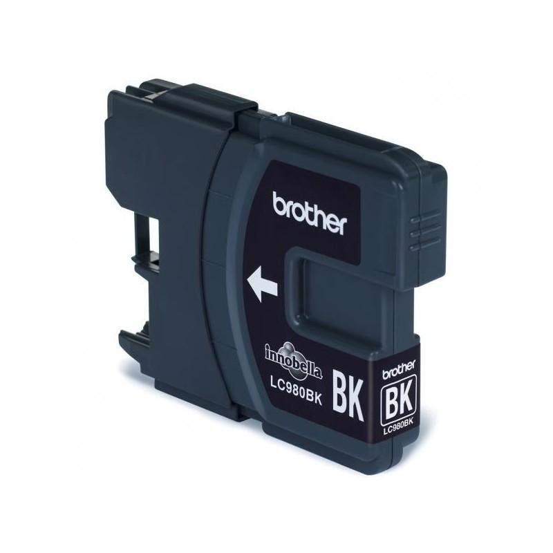 Brother originál ink LC-980BK, black, 300str., Brother DCP-145C, 165C LC980BK