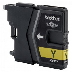 Brother originál ink LC-985Y, yellow, 260str., Brother DCP-J315W LC985Y