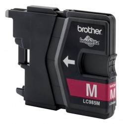 Brother originál ink LC-985M, magenta, 260str., Brother DCP-J315W...