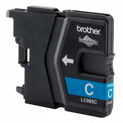 Brother originál ink LC-985C, cyan, 260str., Brother DCP-J315W LC985C