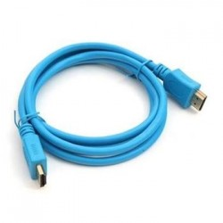 OMEGA KABEL HDMI v.1.4 bulk modrý 1.5m OCHB41BL