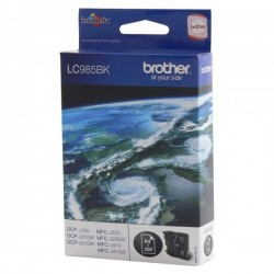 Brother originál ink LC-985BK, black, 300str., Brother DCP-J315W...