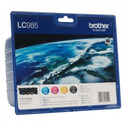 Brother originál ink LC-985VALBP, CMYK, 300str., Brother DCP-J125,...