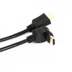 OMEGA KABEL HDMI v.1.4 GOLD ANGULAR 3M BLISTER OCHK34