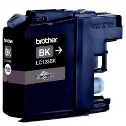 Brother originál ink LC-123BK, black, 600str., Brother MFC-J4510 DW LC123BK