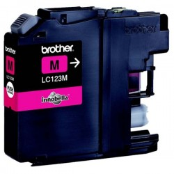 Brother originál ink LC-123M, magenta, 600str., Brother MFC-J4510 DW LC123M
